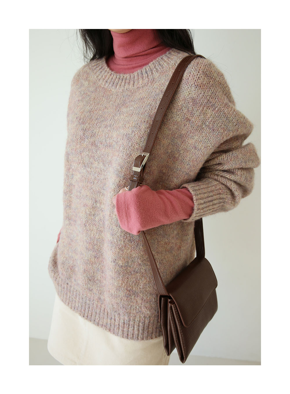 lovely wool boxy knit