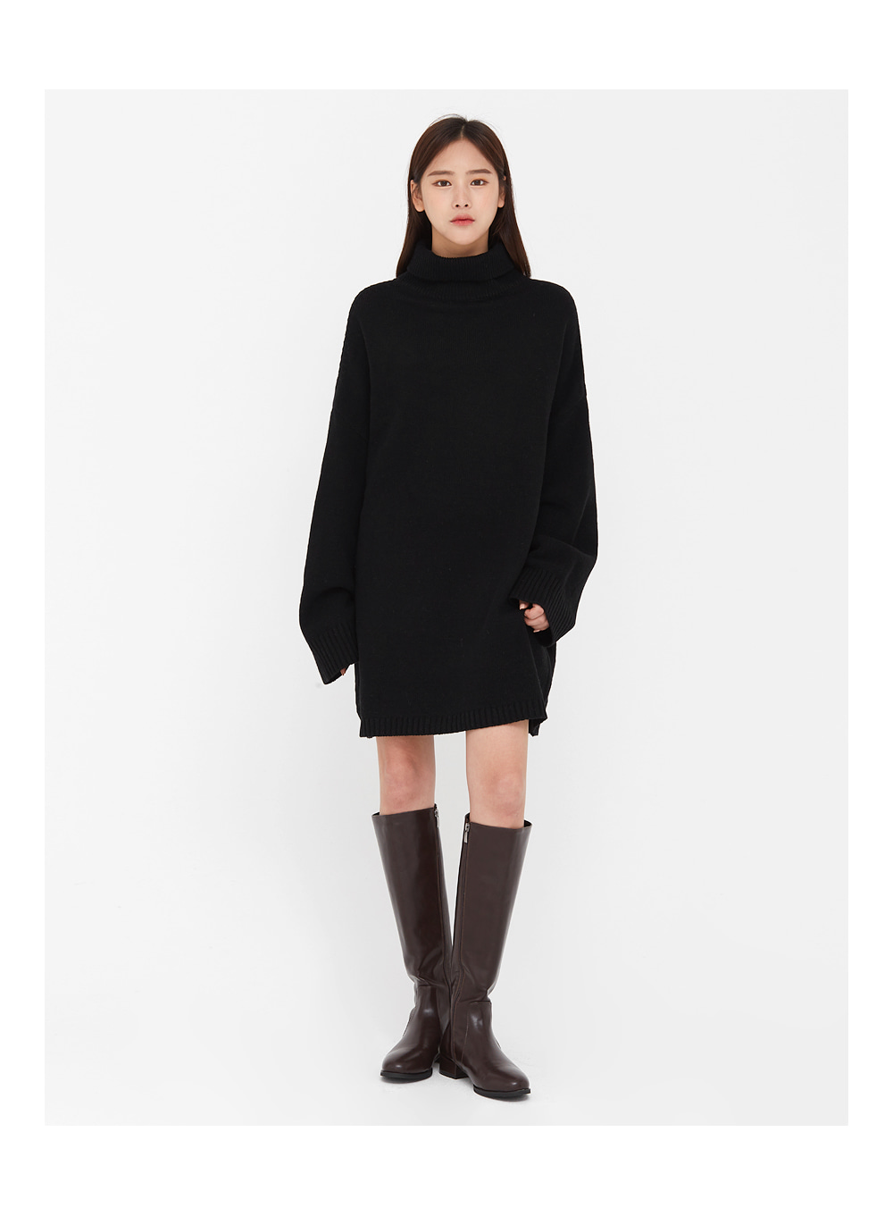 round shape long boots