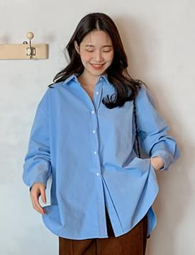 Soft texture loose shirts_J
