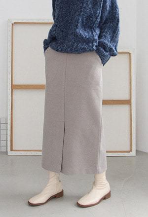 Front slit long skirts スカート