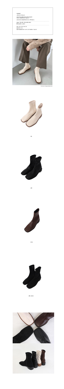Square line boots (4colors)