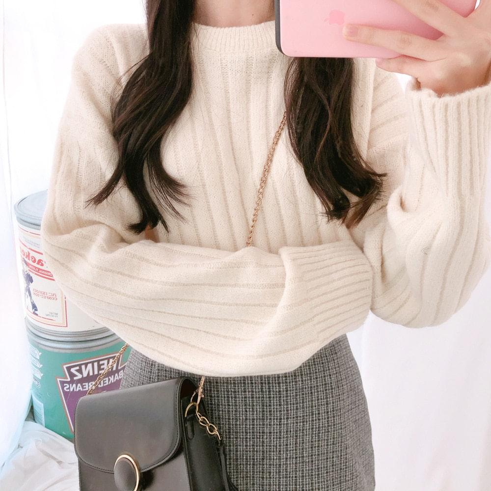 Candy round knit