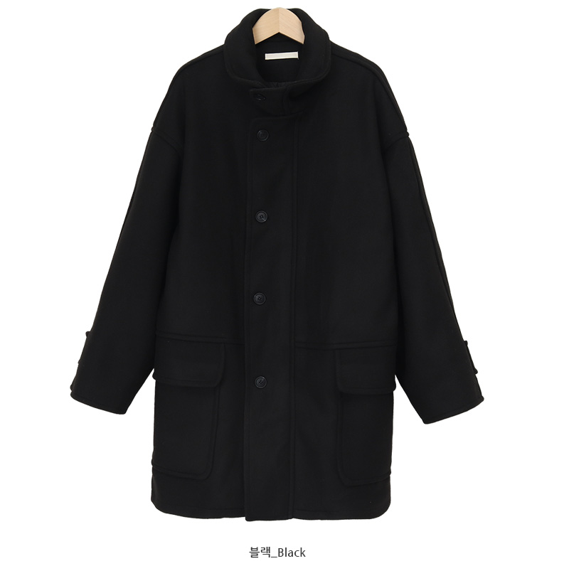 Cliff warm high-neck coat_C