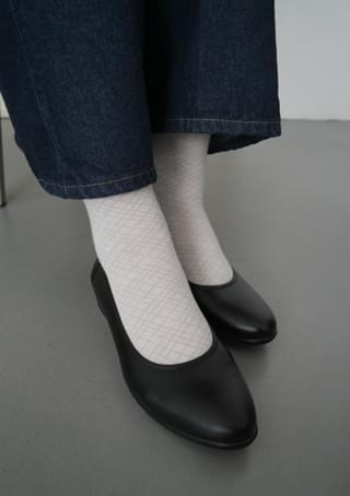 argyle tension socks (2colors)