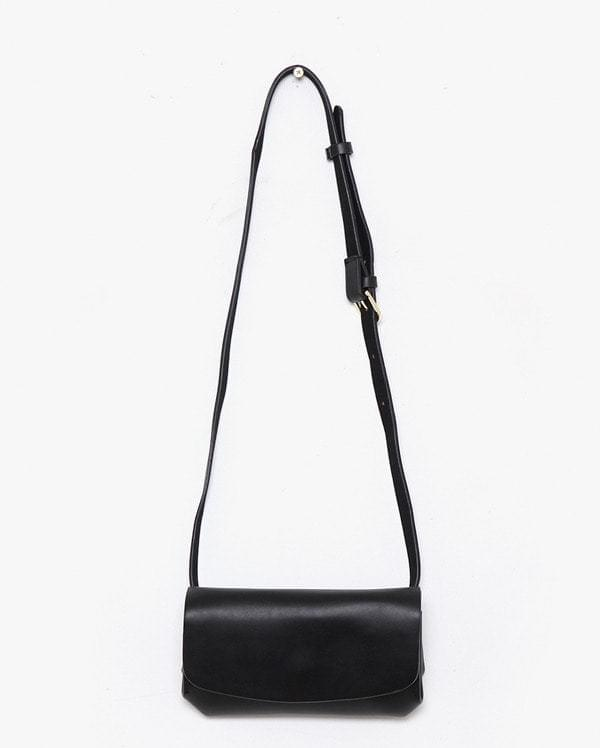 con rectangular belt strap bag