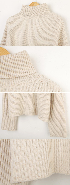 Quality ↑ Crop Knit