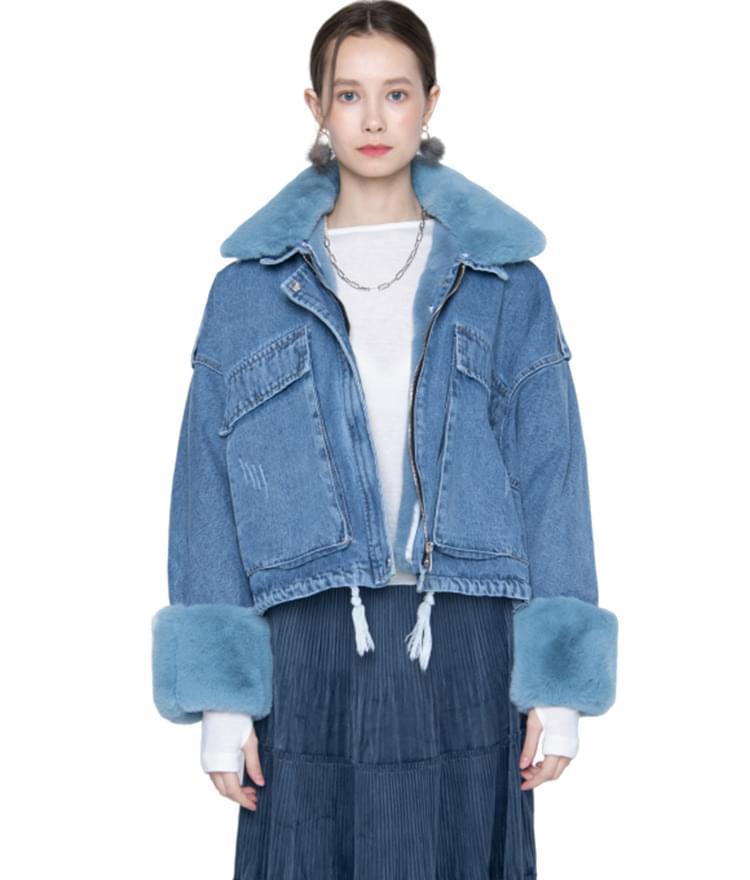 Mink Blue Jacket