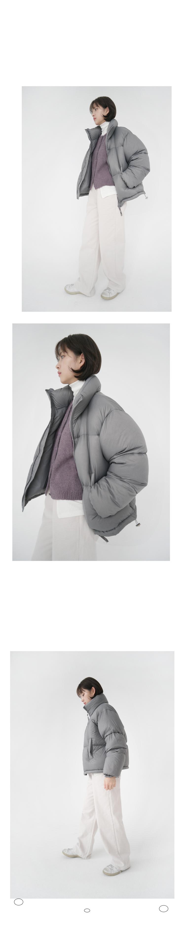 soft round alpaca cardigan