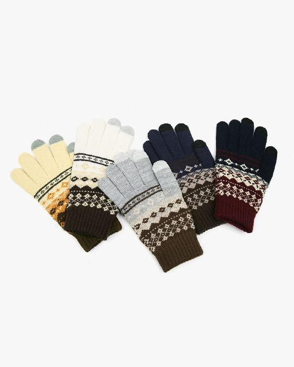 mend ethnic touch gloves