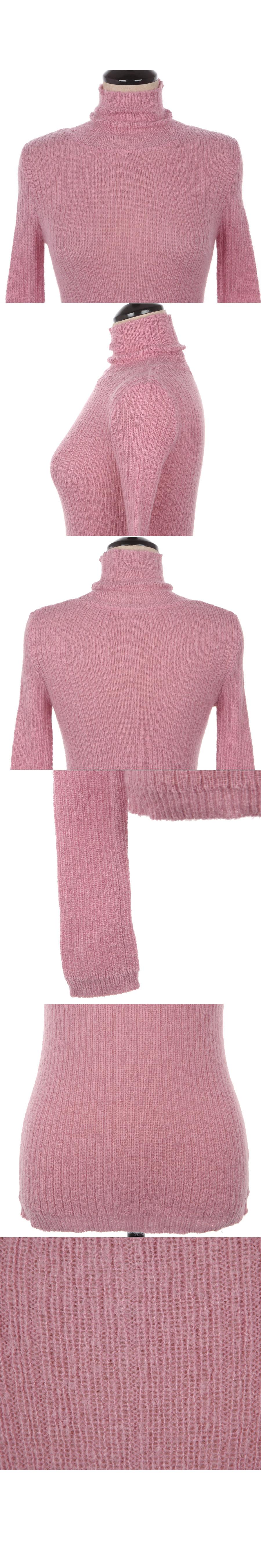 Heart Color Wendy Turtleneck knit