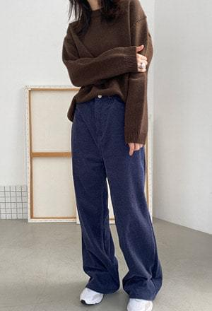 Corduroy color pants