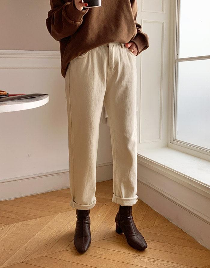 Winning brushed cotton pants