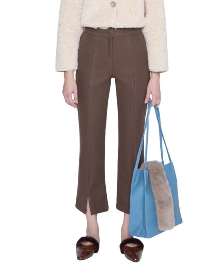 Mild front trim pants