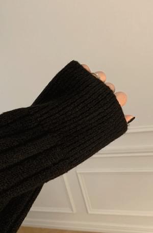 韓國空運 - Pogny Ribbed Knitwear Long Dress 長洋裝