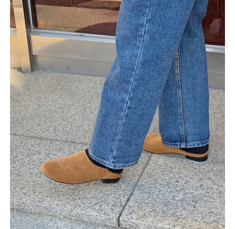 Bread charming suede shoes_Y (size : 230,235,240,245,250)