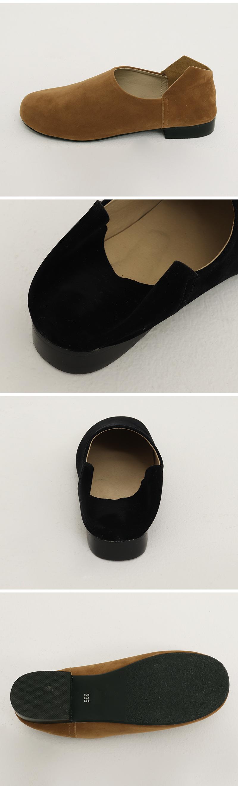 Bread charming suede shoes_Y