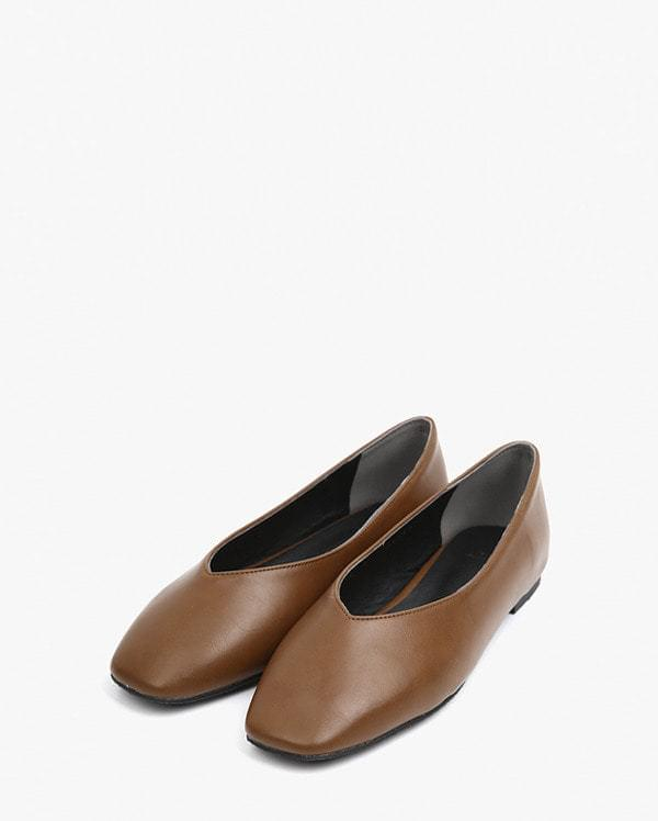 nuage line flat shoes フラット