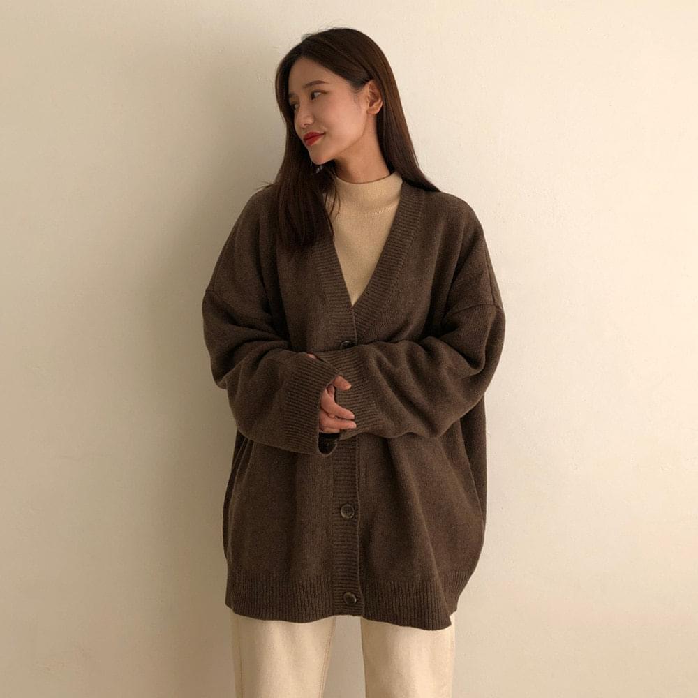 Unisex wool knit cardigan 開襟衫 & 背心