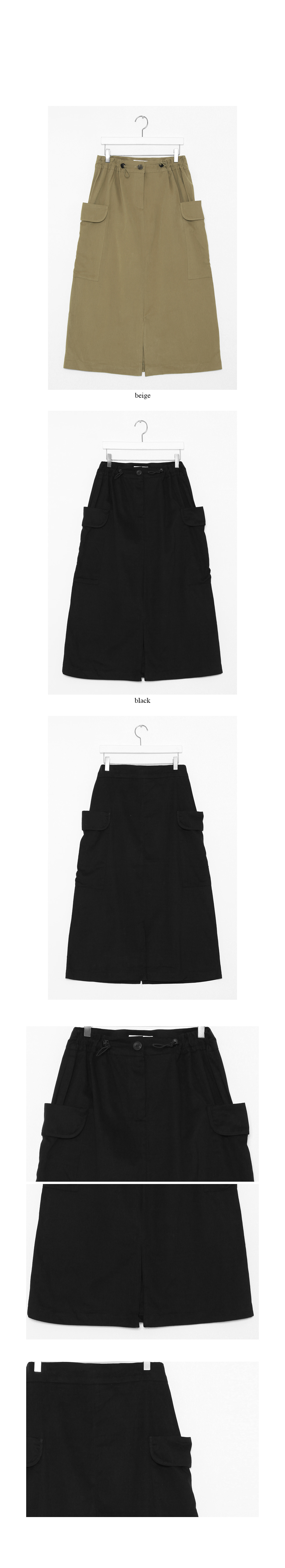 cargo string simple skirts