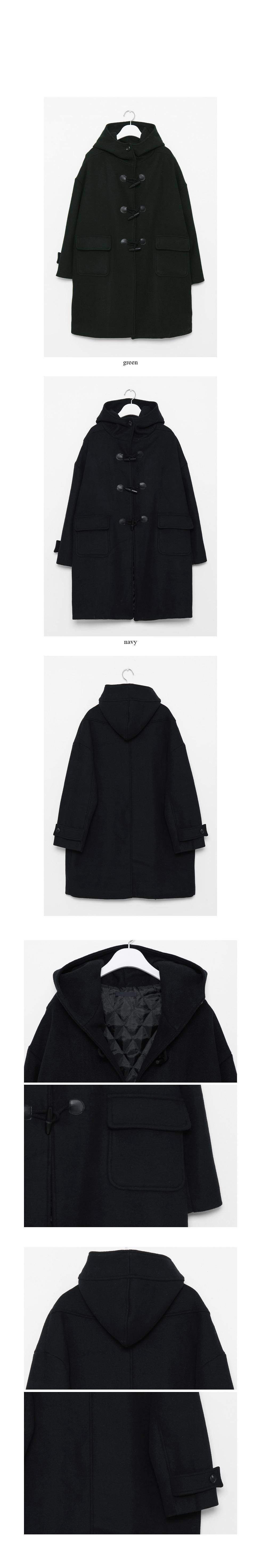 retro duffle coat