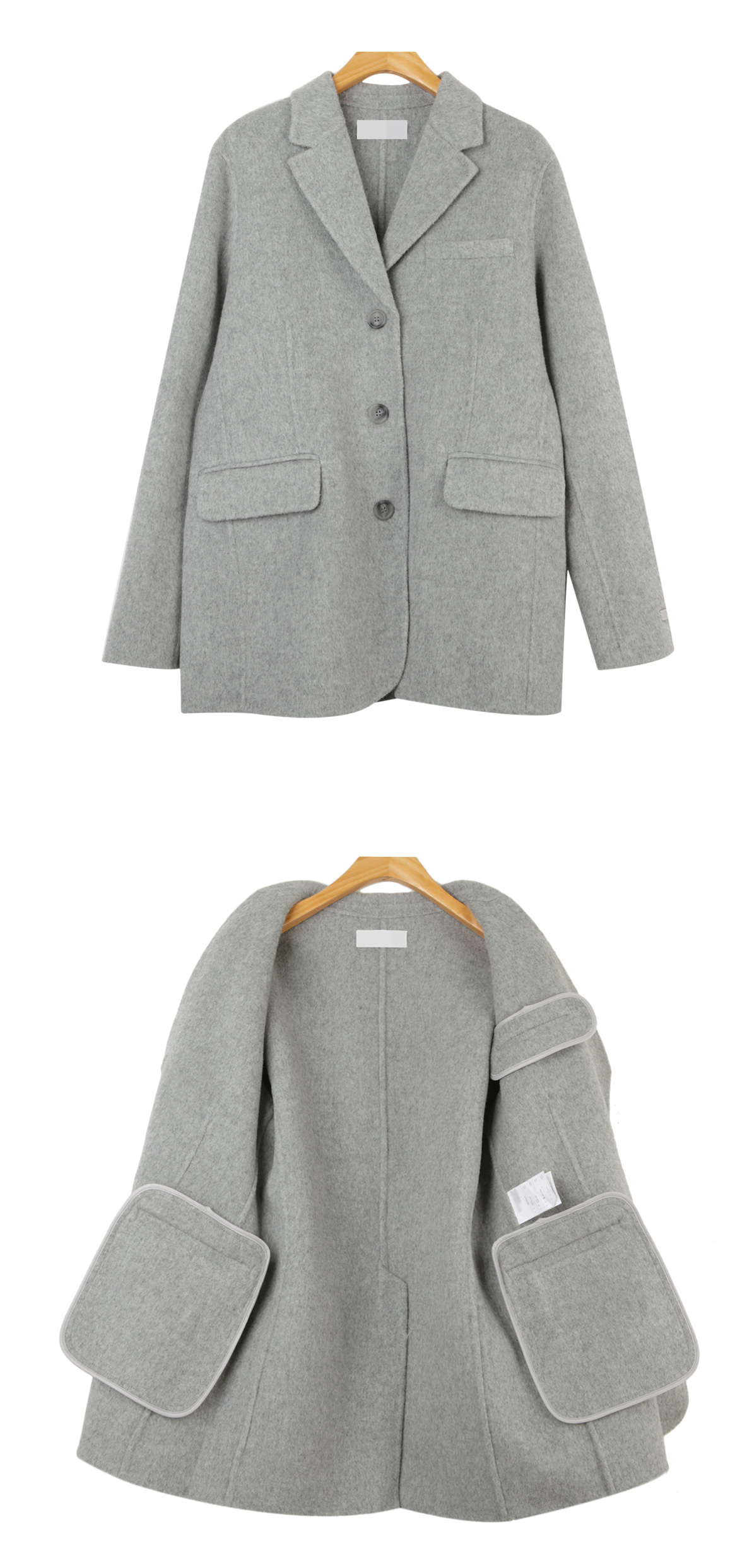 Plain handmade jacket