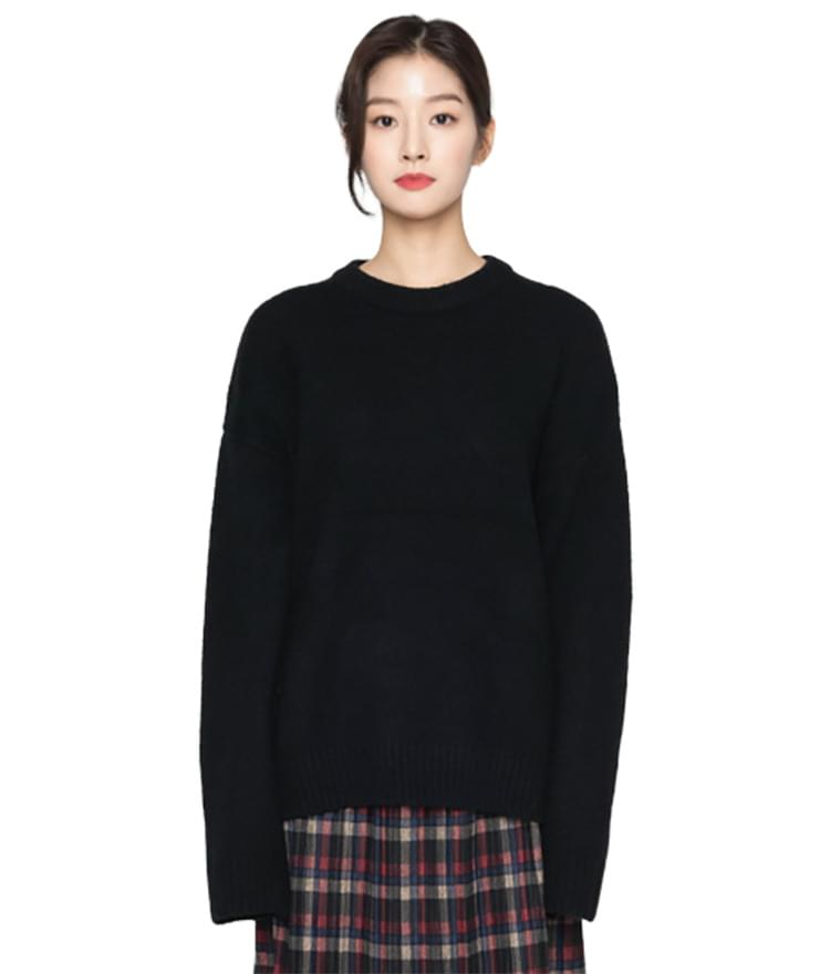 Round Overfit Knit