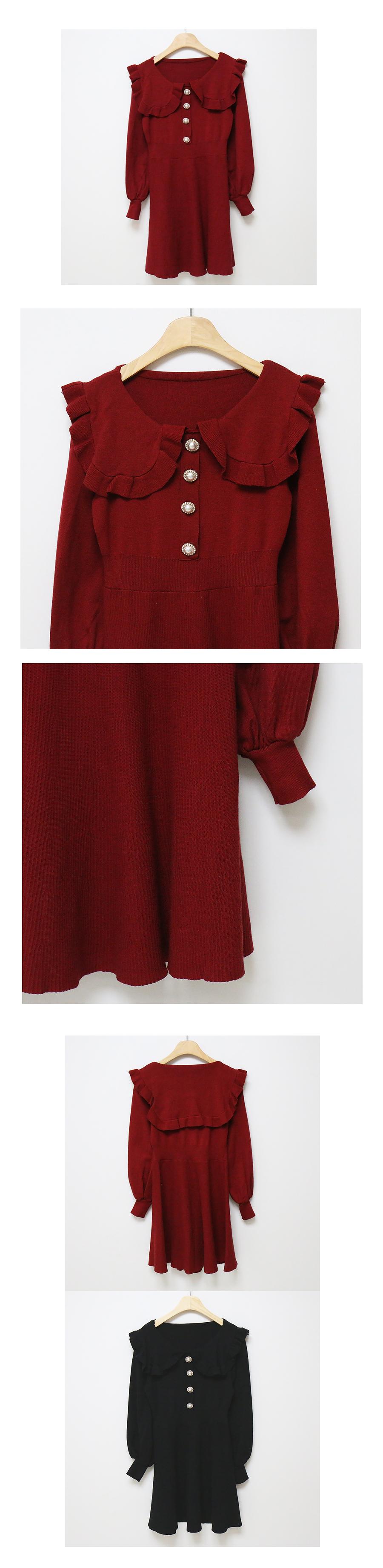 Lyrin Pearl Knit Dress
