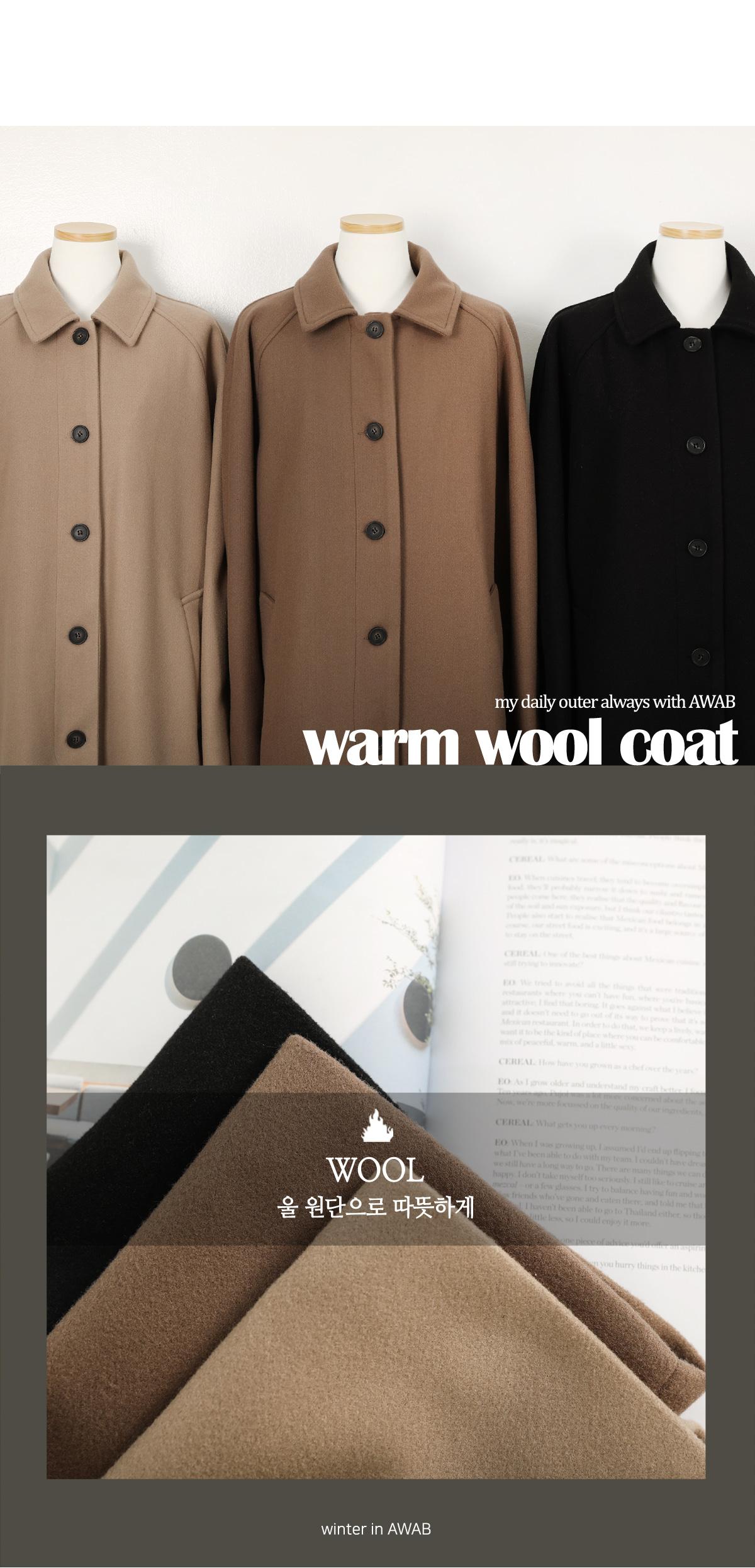 Solene Woollong Coat
