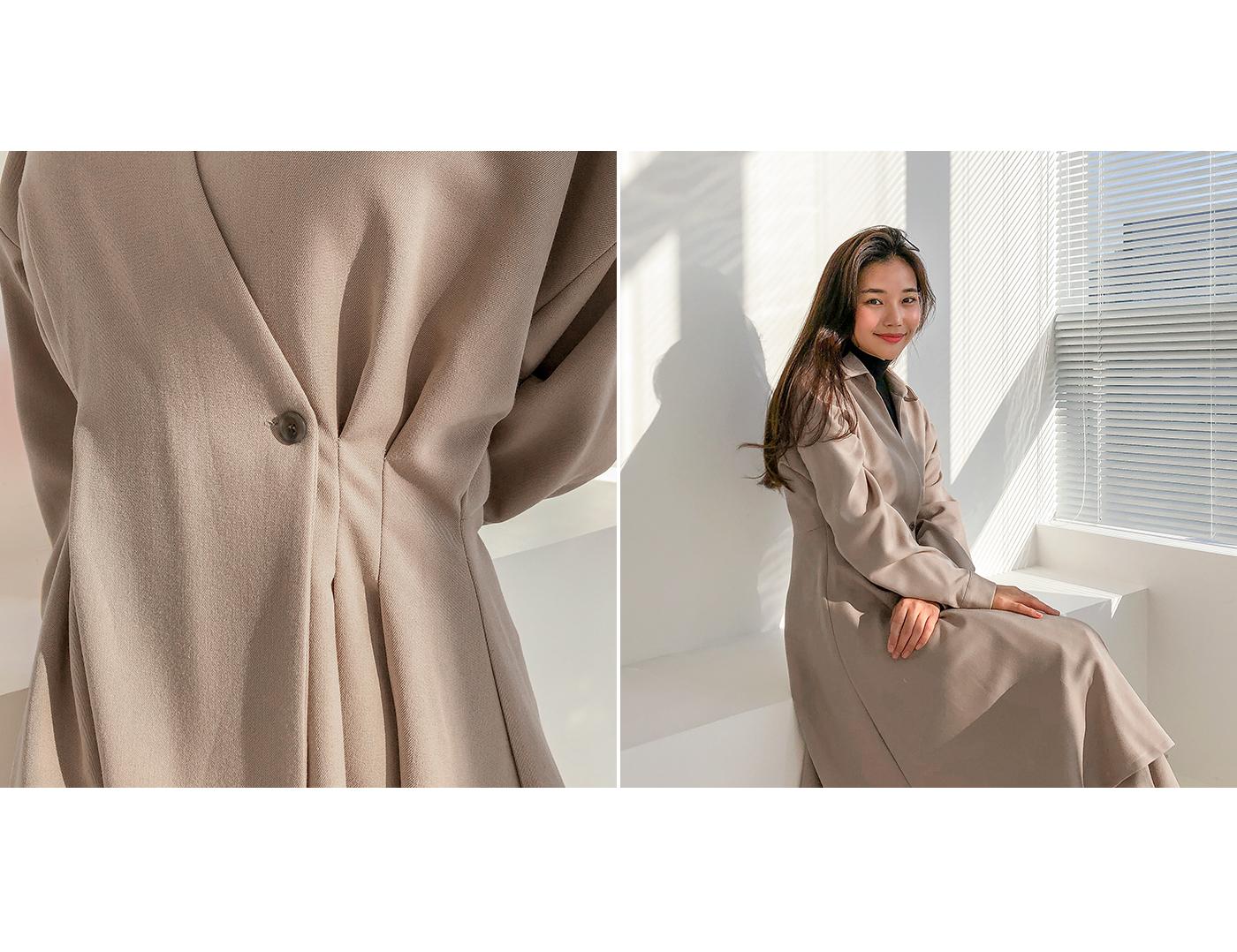 May Pintuck Dress