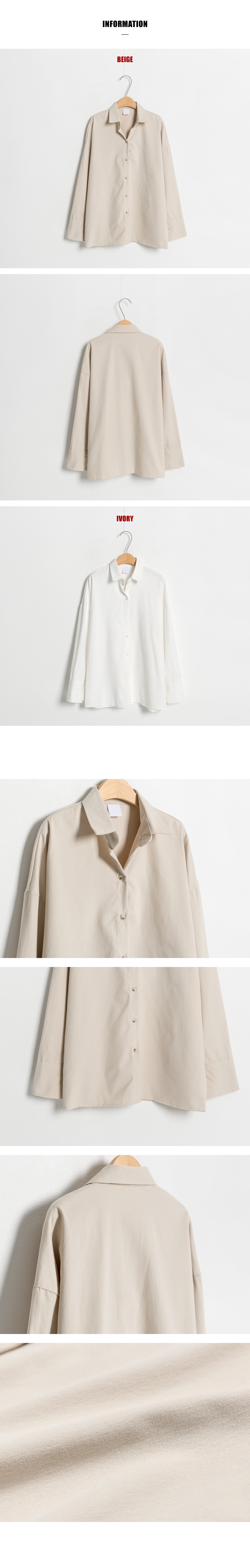 Peach brushed shirt