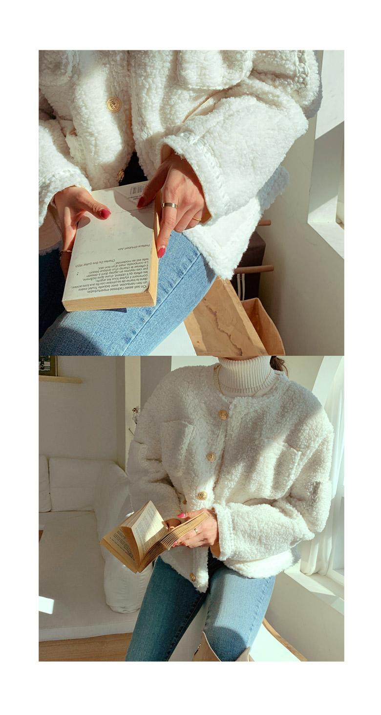 트위디 몽글 포켓 자켓