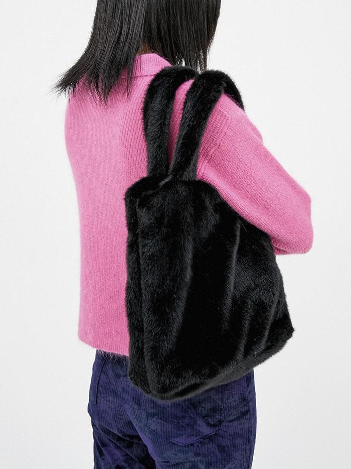 fur tote bag (5 color)