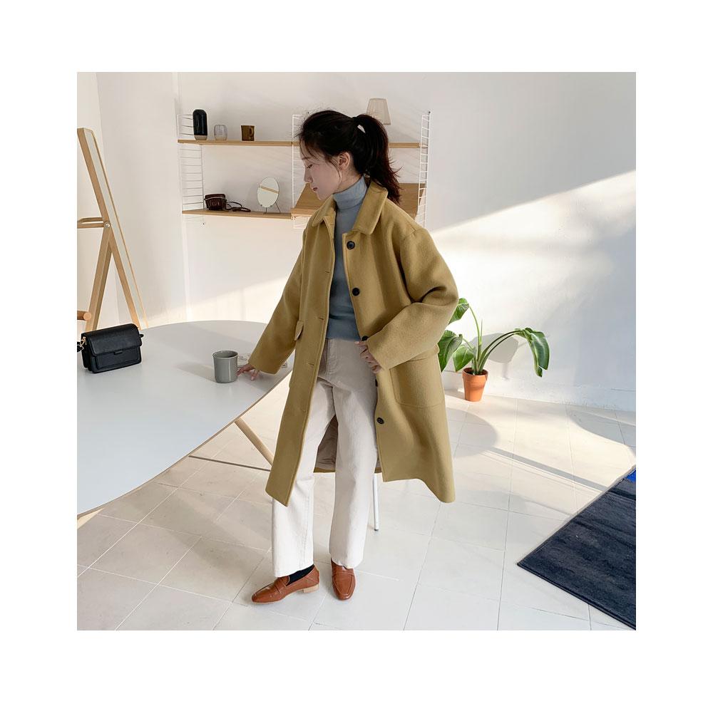ange soft wool single coat
