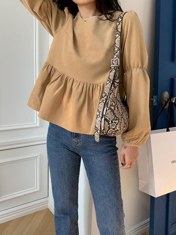 Seine Zangoldden Shirringblouse blouses