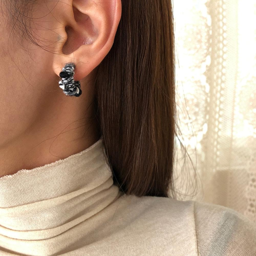Knit scheme earrings 耳環