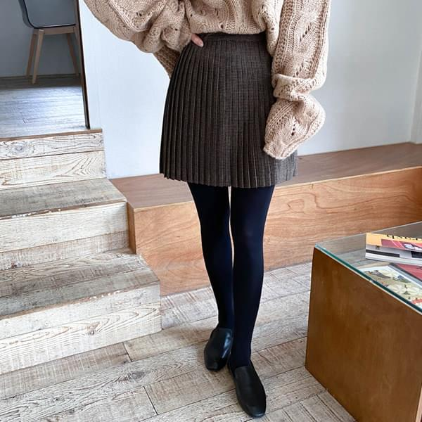 Louis checkpleats miniskirt 裙子