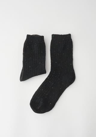 calm color melange socks (3colors)