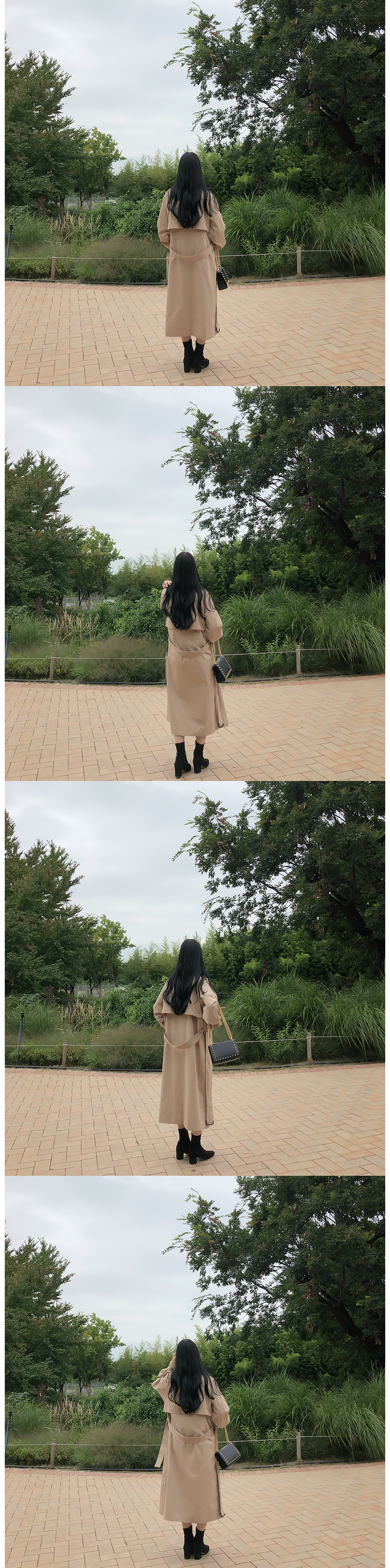 Self-manufactured, same day shipping ♥ Premium Overfit Long Trench Coat