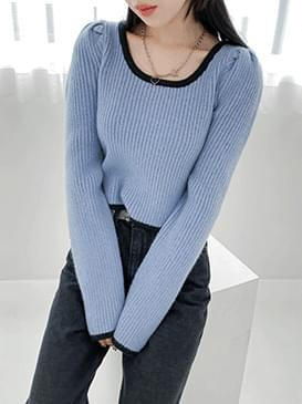 Puff Funny Square Knit