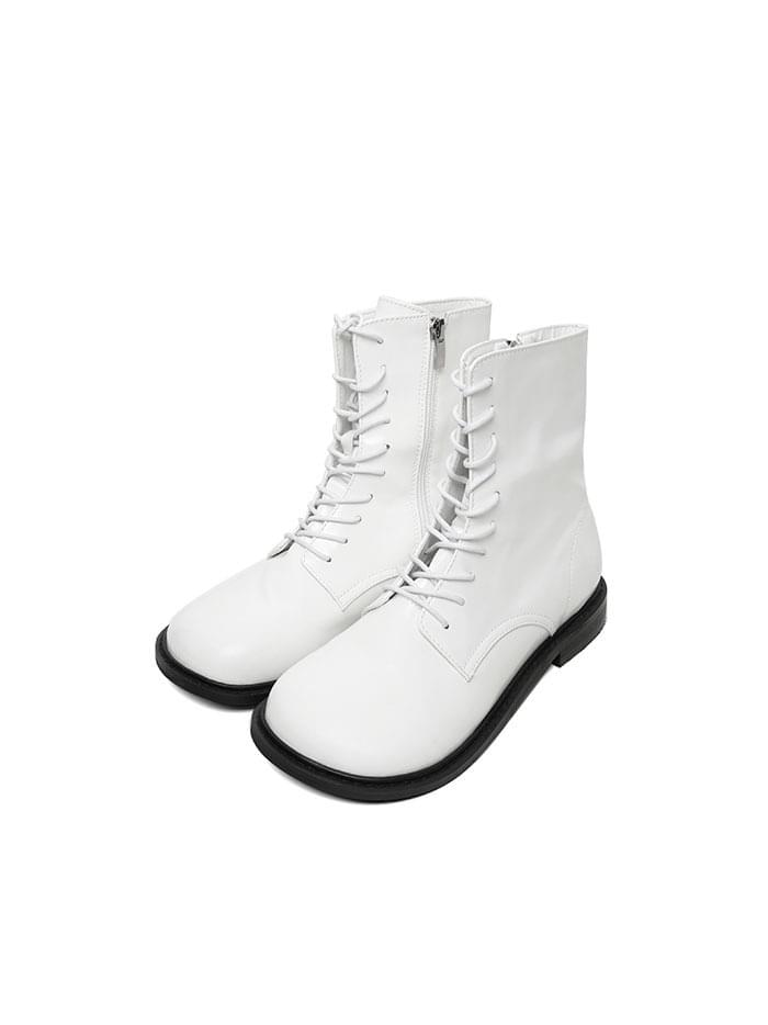 rounded wide walker boots