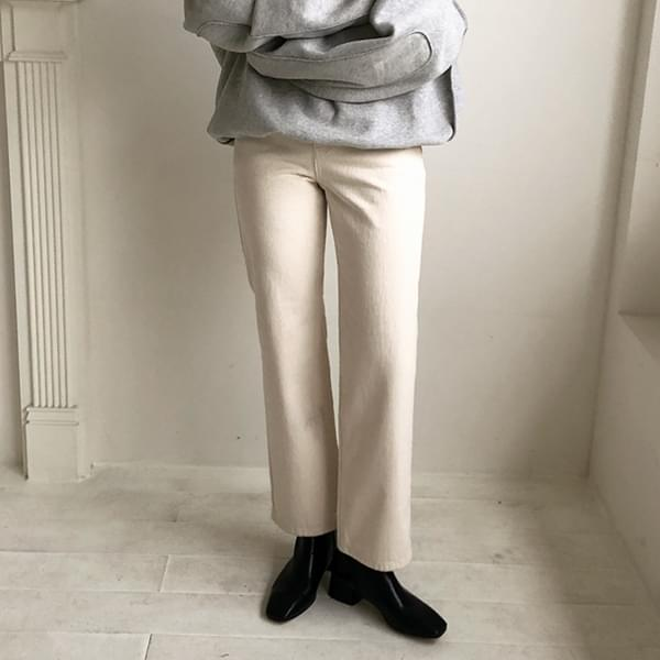 Wide Cream Pants pants