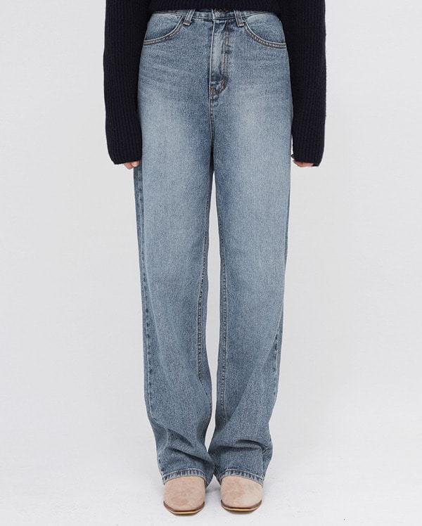 mond stylish long denim pants (s, m)