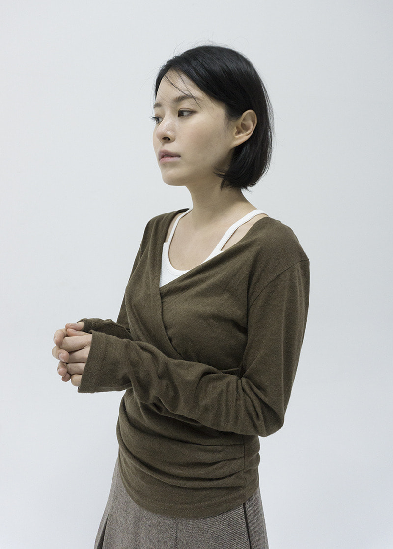 Wool classic skirt