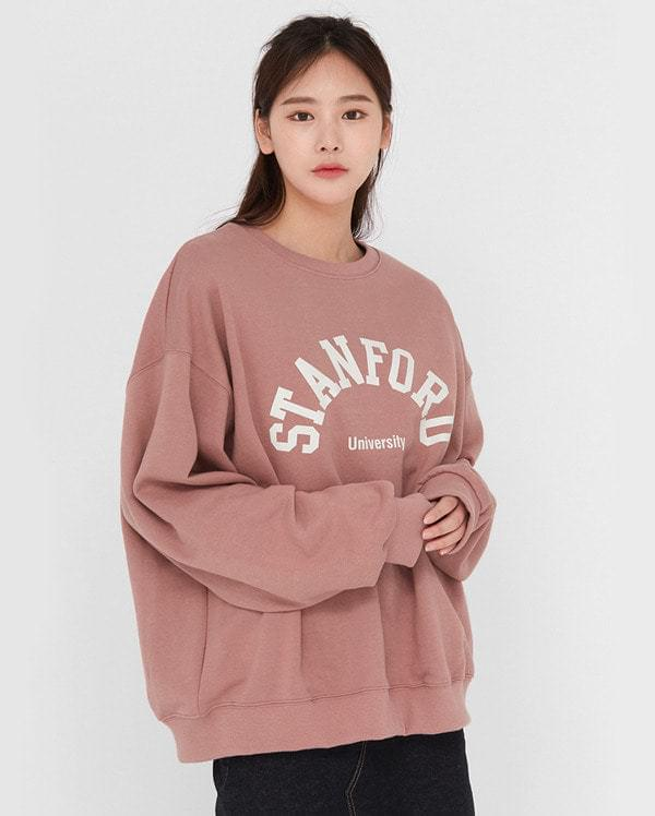 cozy boxy stanford mtm Long Sleeve