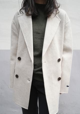 basic handmade double jacket (4colors)