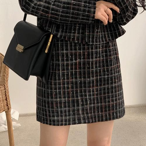 Mood nose coat with skirt