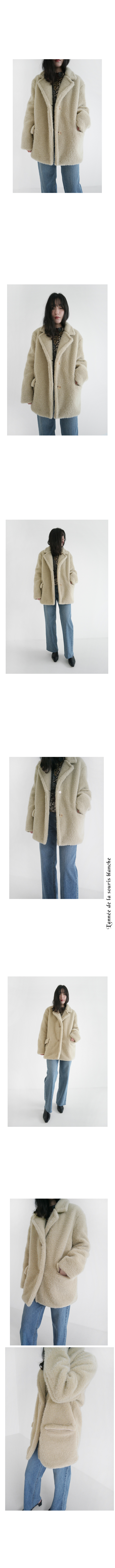 warm easy fake fur jacket