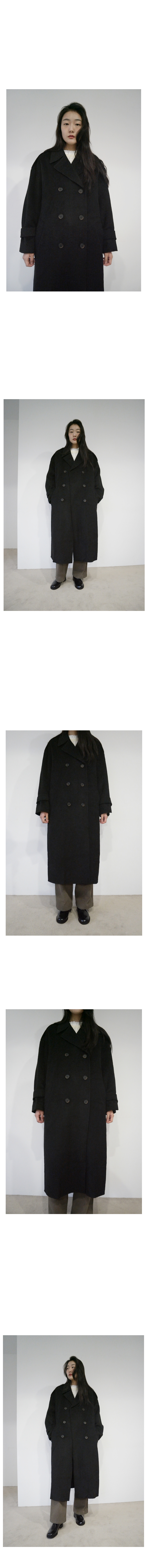 trench wool coat (2colors)