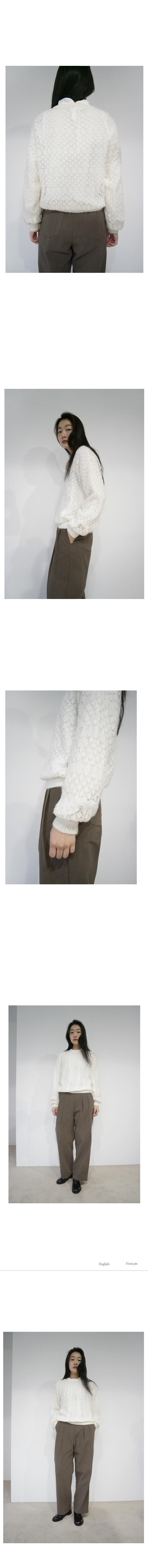 natural washing cotton pants (2colors)