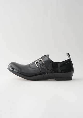 round buckle loafer (2colors)